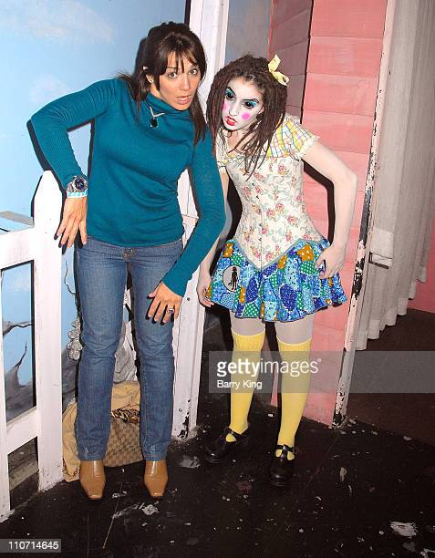 Actress/Comedian JillMichele Melean visits Knott's Scary Farm's 35th Annual Halloween Haunt held at Knotts Berry Farm on October 17 2007 in Buena...