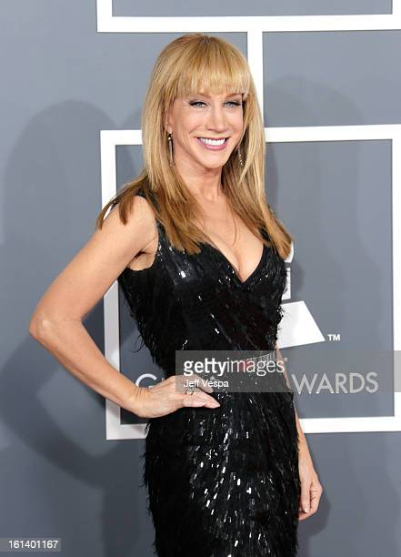 Actress/comedian Kathy Griffin attends the 55th Annual GRAMMY Awards at STAPLES Center on February 10 2013 in Los Angeles California