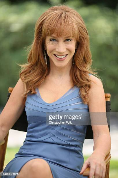 Actress/Comedian Kathy Griffin attends the NBCUniversal summer press day held at The Langham Huntington Hotel and Spa on April 18 2012 in Pasadena...