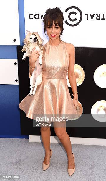 Actress/comedian Natasha Leggero attends The Comedy Central Roast of Justin Bieber at Sony Pictures Studios on March 14 2015 in Los Angeles California