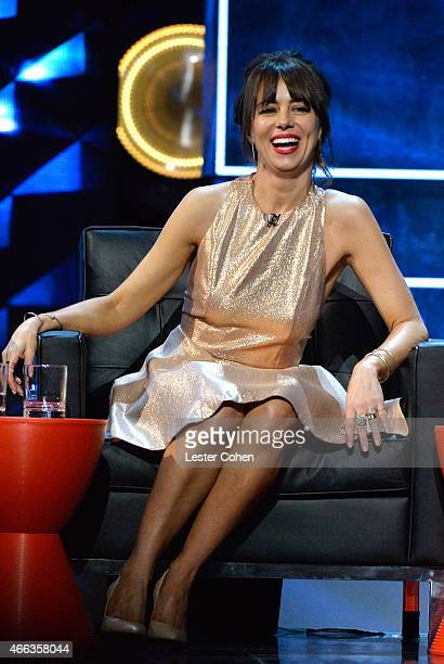 Actress/comedian Natasha Leggero attends The Comedy Central Roast of Justin Bieber at Sony Pictures Studios on March 14, 2015 in Los Angeles,...
