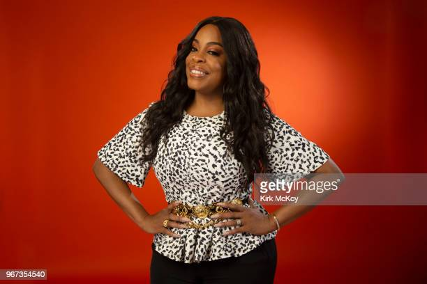 Actress/comedian Niecy Nash is photographed for Los Angeles Times on May 24 2018 in Los Angeles California PUBLISHED IMAGE CREDIT MUST READ Kirk...