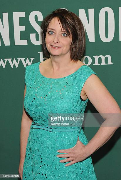 Actress/comedian Rachel Dratch attends Girl Walks into a Bar Comedy Calamities Dating Disasters and a Midlife Miracle at Barnes Noble Union Square on...