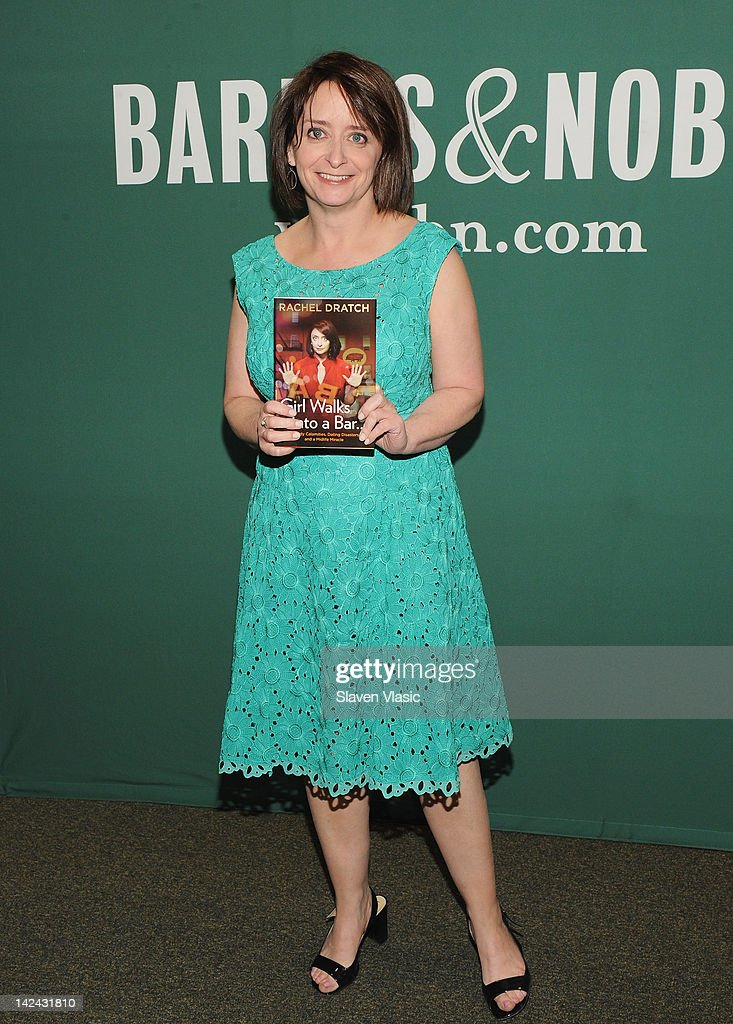 """Rachel Dratch Signs Copies Of """"Girl Walks Into A Bar . . . Comedy Calamities, Dating Disasters, And A Midlife Miracle"""" : News Photo"""