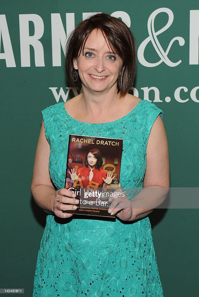 """Rachel Dratch Signs Copies Of """"Girl Walks Into A Bar . . . Comedy Calamities, Dating Disasters, And A Midlife Miracle"""""""