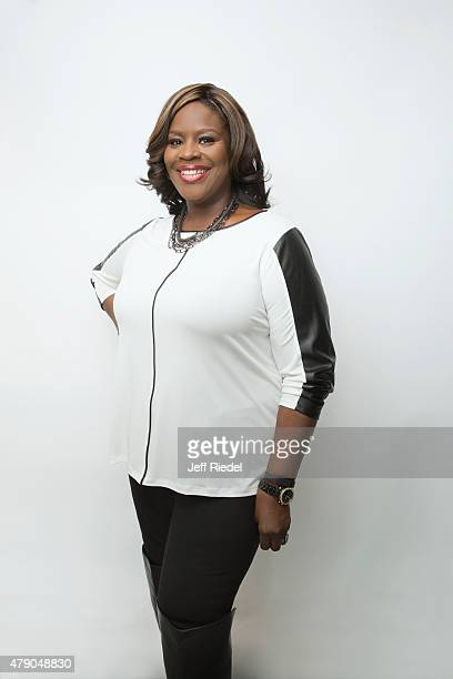 Actress/comedian Retta is photographed for TV Guide Magazine on January 16 2015 in Pasadena California