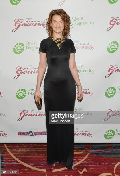 Actress/comedian Sandra Bernhard attends the 28th annual Night of a Thousand Gowns at the Marriott Marquis Times Square on March 29 2014 in New York...