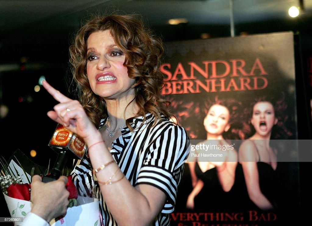 "Sandra Bernhard's ""Everything Bad & Beautiful"" Off Broadway Show : News Photo"