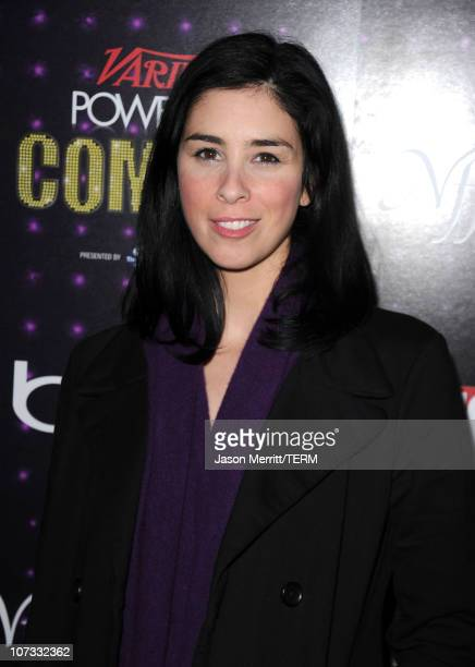 Actress/comedian Sarah Silverman arrives at Variety's Power of Comedy presented by Sims 3 in Partnership with Bing at Club Nokia on December 4, 2010...