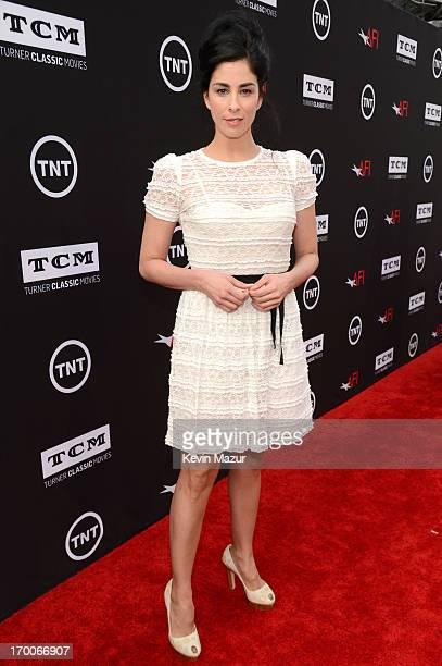 Actress/comedian Sarah Silverman attends AFI's 41st Life Achievement Award Tribute to Mel Brooks at Dolby Theatre on June 6, 2013 in Hollywood,...