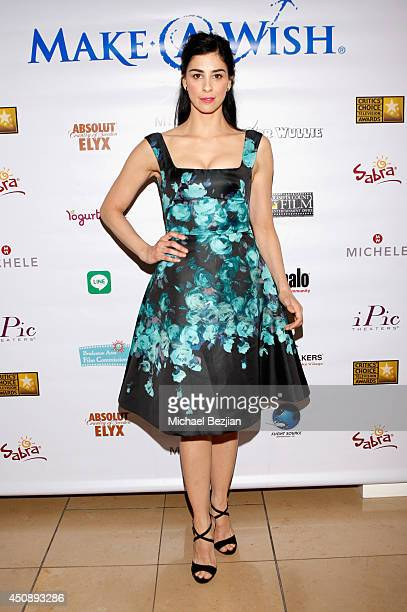 Actresscomedian Sarah Silverman attends the 4th Annual Critics' Choice Television Awards at The Beverly Hilton Hotel on June 19 2014 in Beverly Hills...