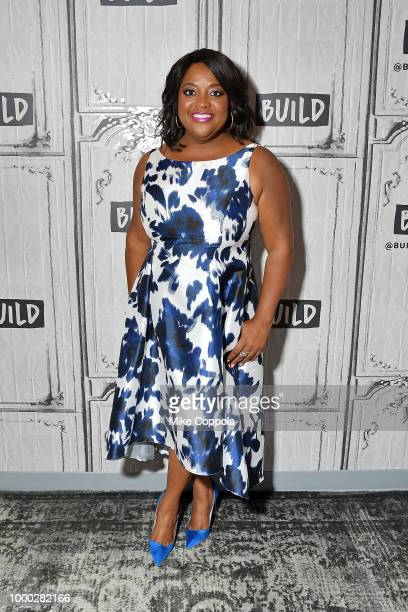 Actress/comedian Sherri Shepherd visits Build Studio on July 16 2018 in New York City
