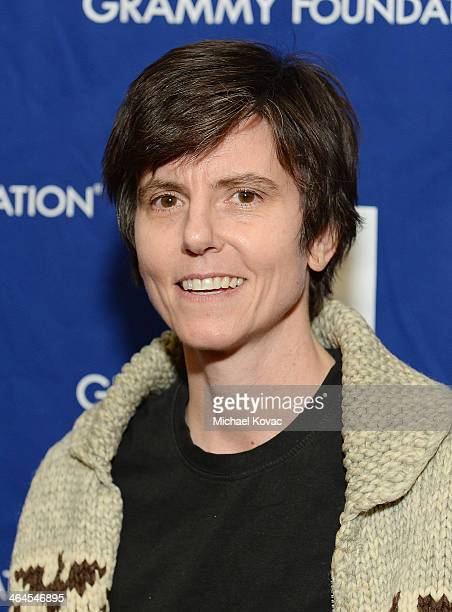 Actress/comedian Tig Notaro arrives at GRAMMY In The Schools Live on January 22 2014 in Los Angeles California