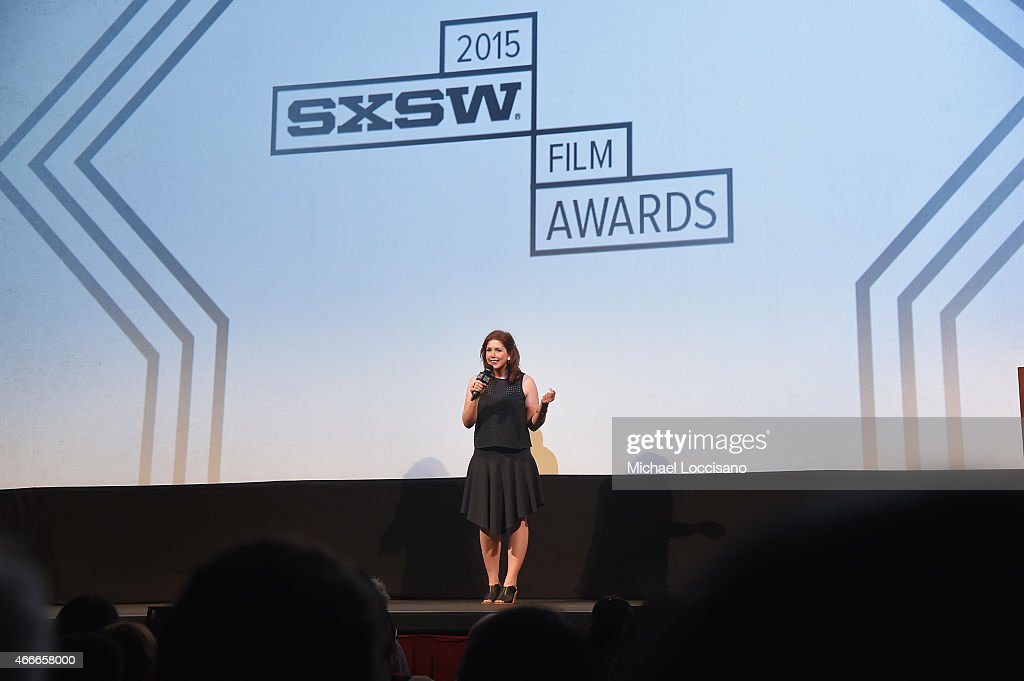 Actress/comedian Vanessa Bayer hosts the SXSW Film Awards during the 2015 SXSW Music, Film + Interactive Festival at Paramount Theatre on March 17, 2015 in Austin, Texas.