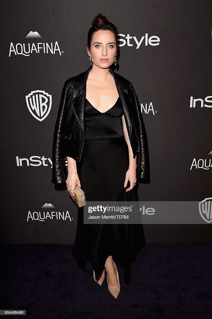 Actress/comedian Zoe Lister-Jones attends The 2016 InStyle And Warner Bros. 73rd Annual Golden Globe Awards Post-Party at The Beverly Hilton Hotel on January 10, 2016 in Beverly Hills, California.