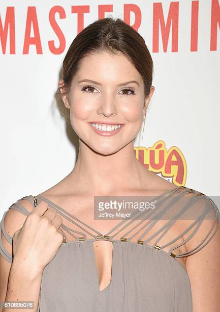 Actress/comedian/Internet personality Amanda Cerny attends the premiere of Relativity Media's 'Masterminds' held at TCL Chinese Theatre on September...