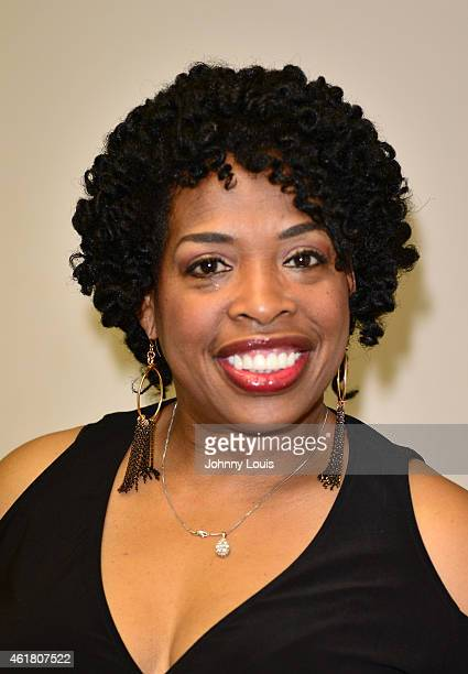 Actress/Comediene Adele Givens backstage during The Festival of Laughs day1 at James L Knight Center on January 16 2015 in Miami Florida