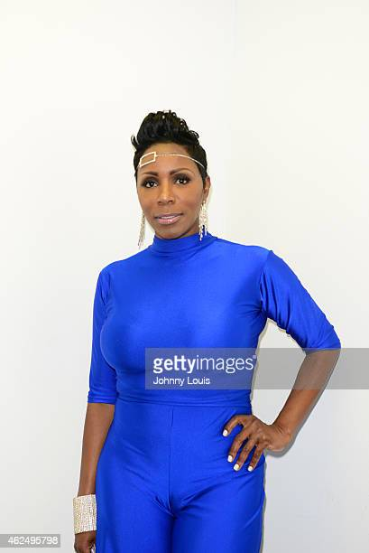 Actress/Comediene Sommore backstage during The Festival of Laughs day 2 at James L Knight Center on January 17 2015 in Miami Florida