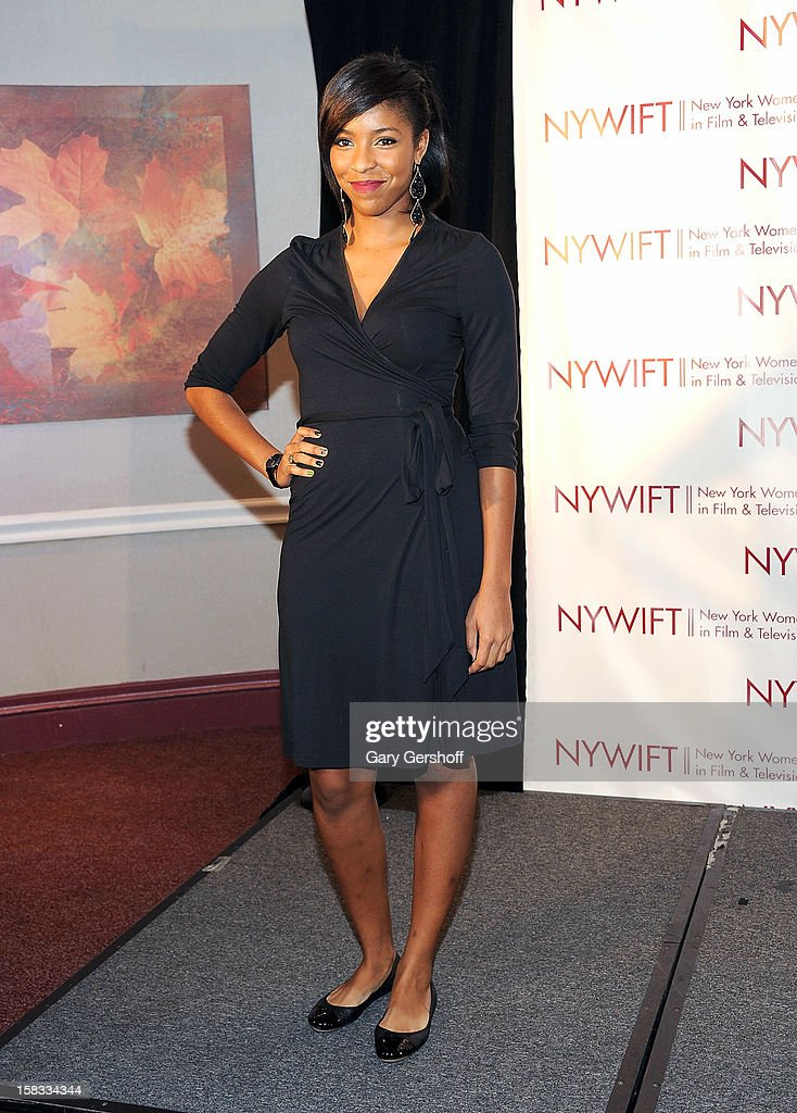 Actress/comedienne Jessica Williams attends the 2012 New York Women In Film And Television Muse Awards at the Hilton New York on December 13, 2012 in New York City.