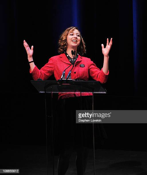 Actress/comedienne Kristen Schaal attends the 63rd annual Writers Guild Awards at the AXA Equitable Center on February 5 2011 in New York United...