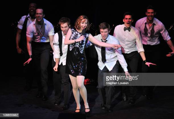 Actress/comedienne Kristen Schaal performs at the 63rd annual Writers Guild Awards at the AXA Equitable Center on February 5 2011 in New York United...