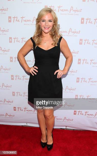 Actress/comedienne Rachael Harris attends the 10th Annual Trevor New York Summer Gala on June 28 2010 in New YorkCity