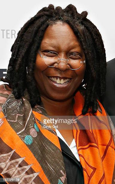 Actress/comedienne Whoopi Goldberg attends Sonny Fox Forty Years In Television A Conversation With Whoopi Goldberg at The Paley Center for Media on...
