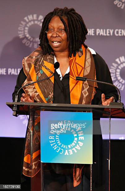 Actress/comedienne Whoopi Goldberg speaks during Sonny Fox Forty Years In Television A Conversation With Whoopi Goldberg at The Paley Center for...