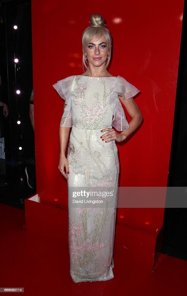 Actress/competition judge Julianne Hough attends 'Dancing with the Stars' Season 24 at CBS Televison City on April 17, 2017 in Los Angeles, California.