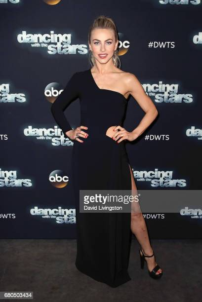 Actress/competition judge Julianne Hough attends Dancing with the Stars Season 24 at CBS Televison City on May 8 2017 in Los Angeles California