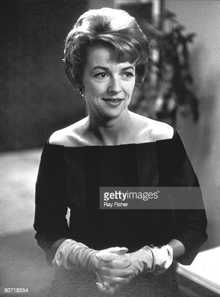 Actress/consumer advocate Betty Furness during an interview.