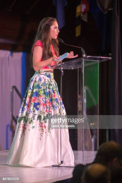 Actress/dancer Ava Cantrell at the National Press Club on September 15 2017 in Washington DC