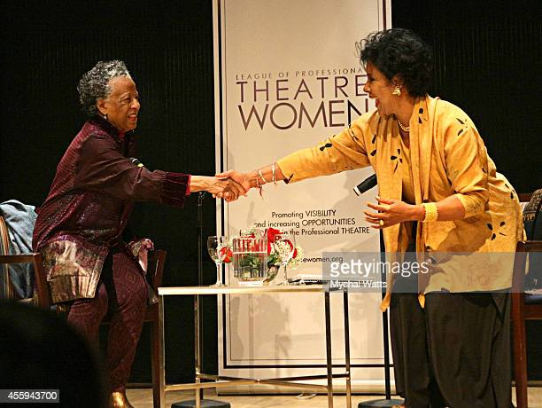 Actress/Dancer Billie Allen and Actress Phylicia Rashad at The League Of Profesional Theatre Women Presents Billie Allen And Phylicia Rashad at The...