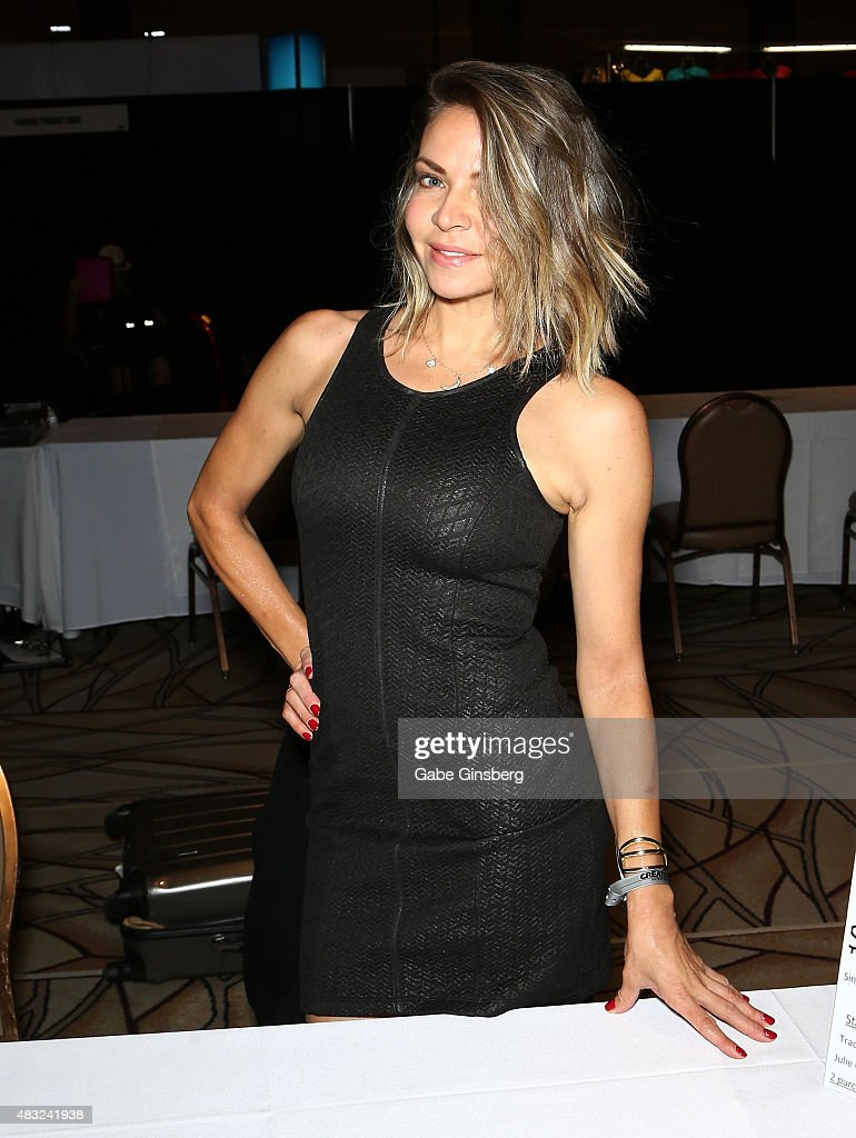 Actress/dancer Cyia Batten attends the 14th annual official Star Trek convention at the Rio Hotel & Casino on August 6, 2015 in Las Vegas, Nevada.