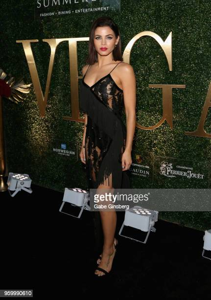 Actress/dancer Jenna Dewan attends Vegas magazine's 15th anniversary party at the Red Rock Casino Resort and Spa on May 18 2018 in Las Vegas Nevada