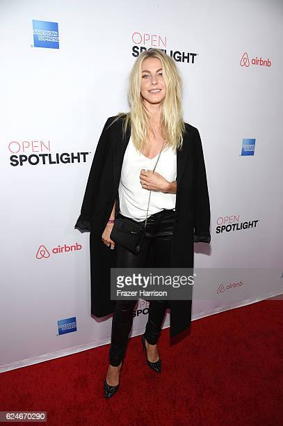 Actress/Dancer Julianne Hough attends Open Spotlight at The Oasis during Airbnb Open LA Day 3 on November 19 2016 in Los Angeles California