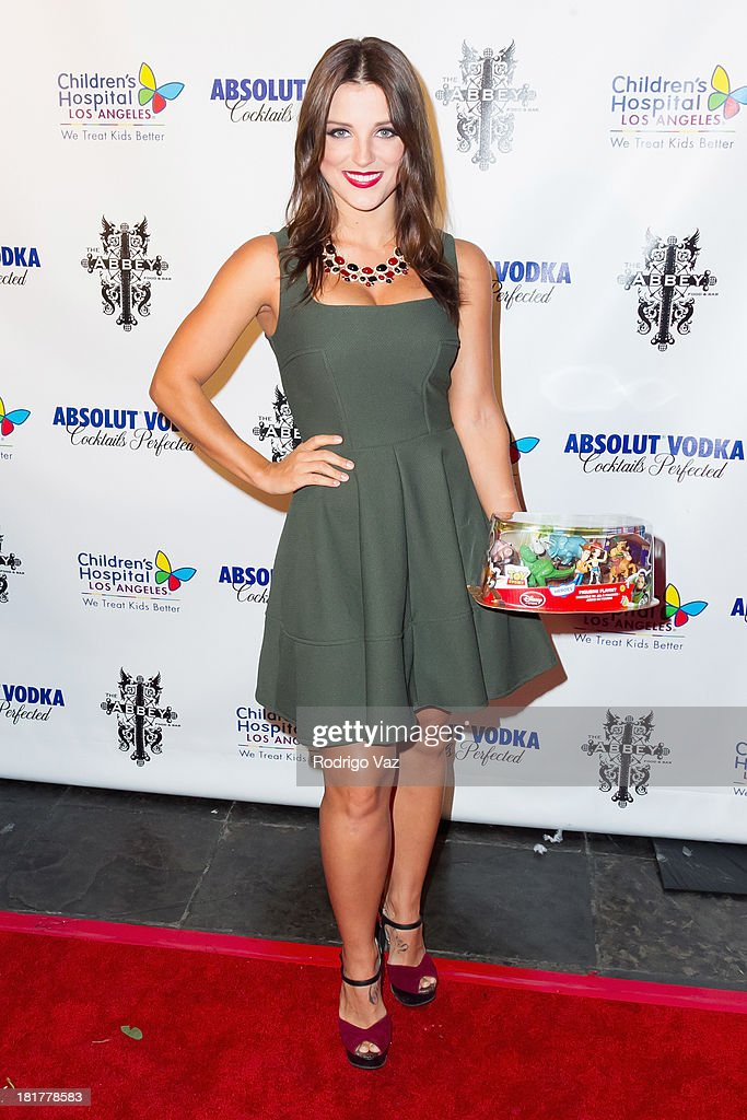 Actress/dancer Katrina Norman attends The Abbey's 8th annual Christmas In September Event benefiting The Children's Hospital Los Angeles at The Abbey on September 24, 2013 in West Hollywood, California.