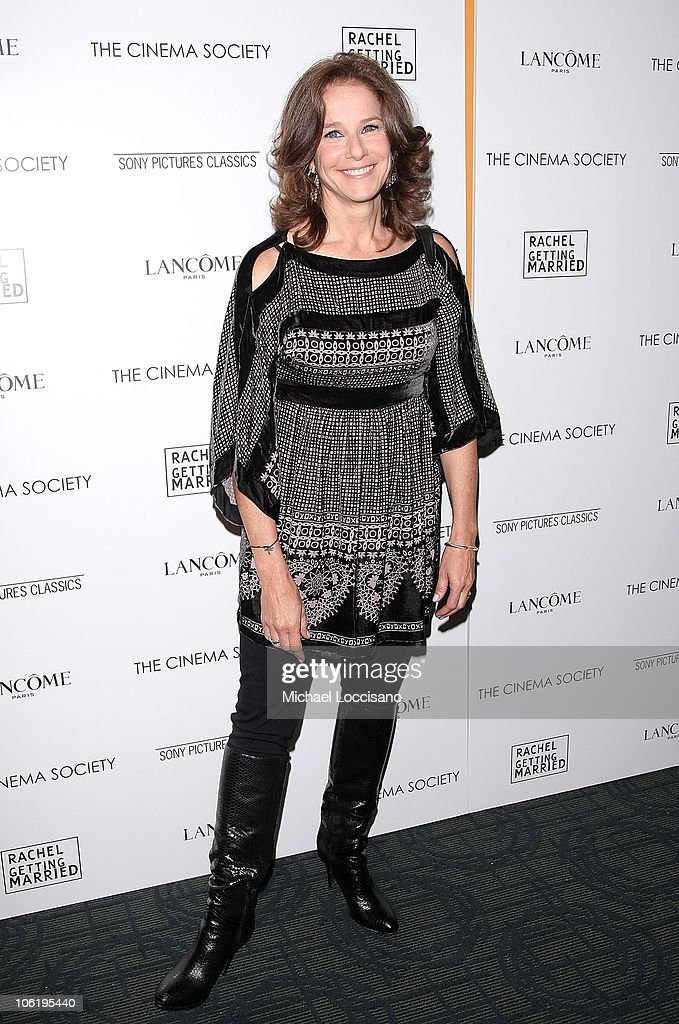 ActressDebra Winger attends a screening of 'Rachel Getting Married' hosted by The Cinema Society and Lancome at the Landmark Sunshine Theatre on September 25, 2008 in New York City.