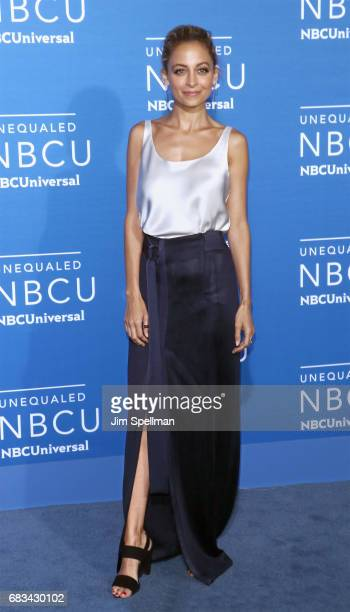 Actress/designer Nicole Richie attends the 2017 NBCUniversal Upfront at Radio City Music Hall on May 15 2017 in New York City