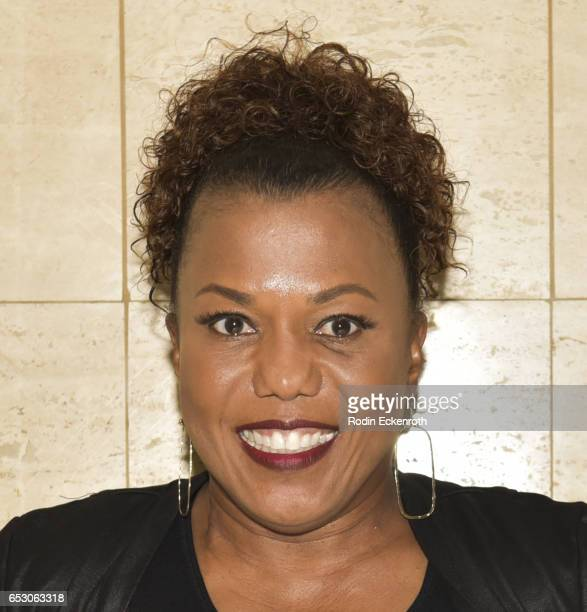 """Actress/designer Tonya Renee Banks poses for portrait at her her debut of """"Lil Boss Body"""" clothing line at Fathom on March 13, 2017 in Los Angeles,..."""