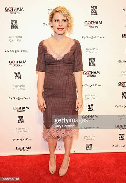Actress/director Ami Seimetz attends the 23rd annual Gotham Independent Film Awards at Cipriani Wall Street on December 2, 2013 in New York City.