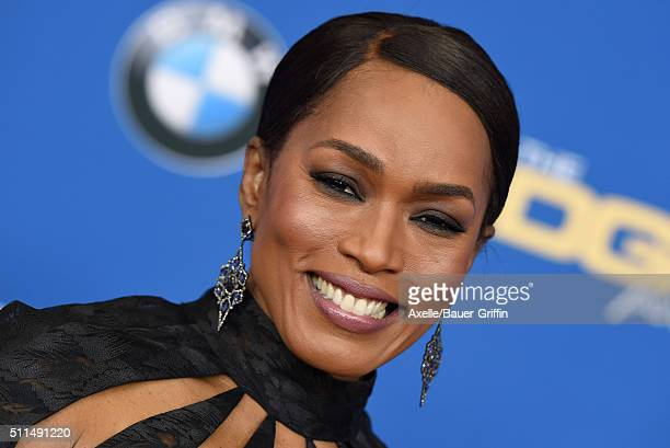 Actress/Director Angela Bassett arrives at the 68th Annual Directors Guild of America Awards at the Hyatt Regency Century Plaza on February 6 2016 in...