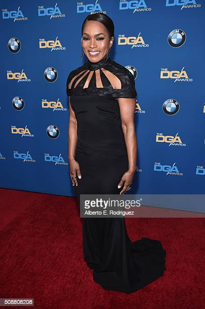 Actress/Director Angela Bassett attends the 68th Annual Directors Guild Of America Awards at the Hyatt Regency Century Plaza on February 6 2016 in...