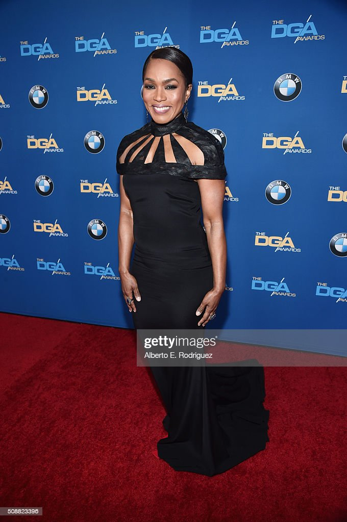 Actress/Director Angela Bassett attends the 68th Annual Directors Guild Of America Awards at the Hyatt Regency Century Plaza on February 6, 2016 in Los Angeles, California.