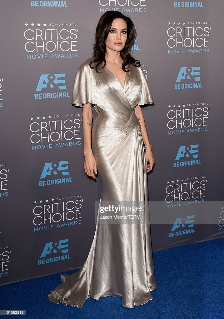 Actress-director Angelina Jolie attends the 20th annual Critics' Choice Movie Awards at the Hollywood Palladium on January 15, 2015 in Los Angeles, California.