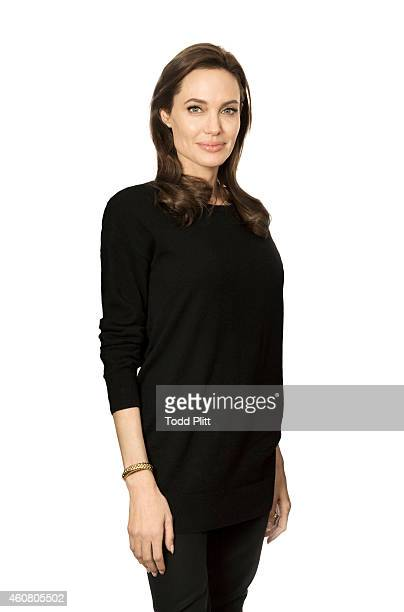 Actress/director Angelina Jolie is photographed for USA Today on December 5 2014 in New York City