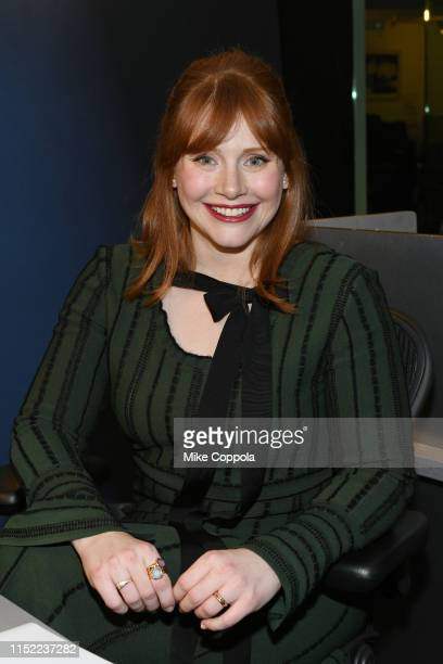 Actress/Director Bryce Dallas Howard visits SiriusXM Studios on May 28 2019 in New York City
