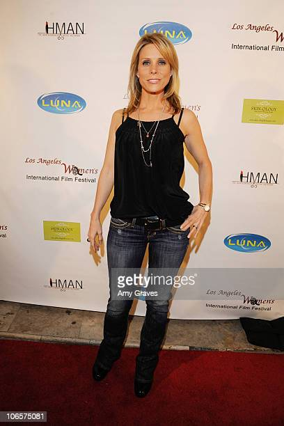 Actress/director Cheryl Hines attends the Los Angeles Women's International Film Festival Opening Night Gala at Libertine on March 26 2010 in Los...