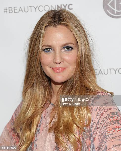 Actress/director Drew Barrymore attends the 2016 Beautycon Festival NYC held at Pier 36 on October 1 2016 in New York City