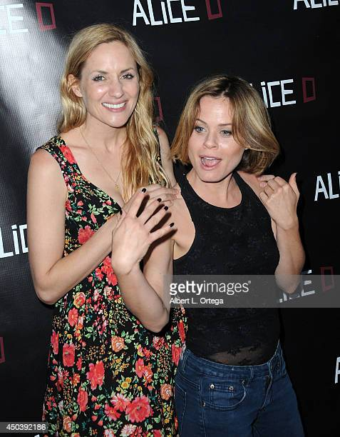 Actress/director Jessica Sonneborn and actress Augie Duke arrive for the Screening Of Alice D At The 19th Annual IFS Film Festival held at Laemmle's...
